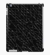 Monochrome storm iPad Case/Skin