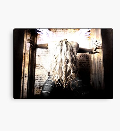 With Out A Note Canvas Print