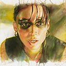 Lisbeth Salander, The Girl with the Dragon Tattoo by illusoryart