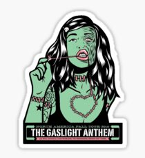 The Gaslight Anthem with Rival Schools, Fake Problems, and The Menzingers Tour Tee Sticker