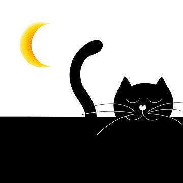 black cat by narais