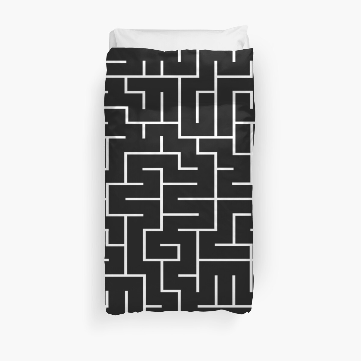 A-MAZE-ING!  White, Black, Maze, Lost, Found, Where's the Cheese? by CanisPicta