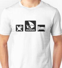 Eat WINDSURF Sleep Unisex T-Shirt