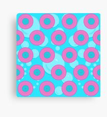 Bubble Barbie Canvas Print