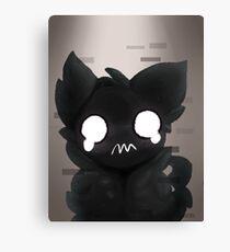 Weird Ghost Cat Canvas Print