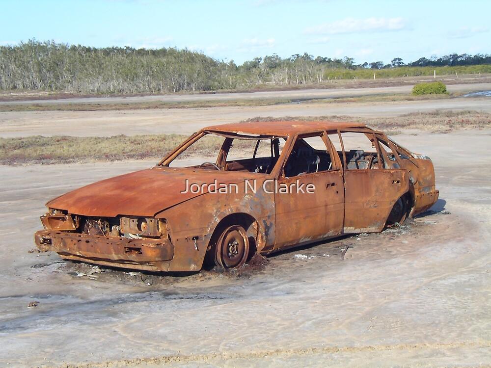Rusty Car #2 by Jordan N Clarke