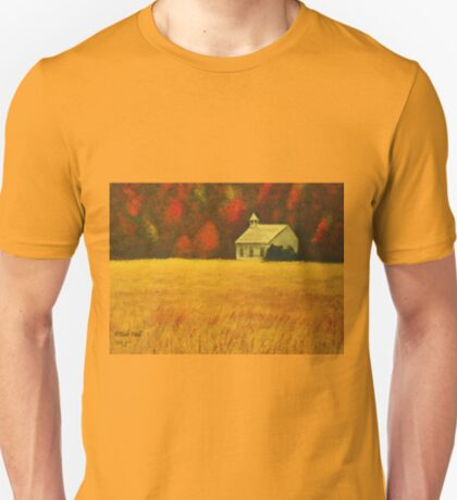 MOUNTAIN AUTUMN, Acrylic Painting, for prints and products T-Shirt