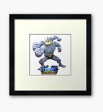 Pokken Tournament Machamp Framed Print