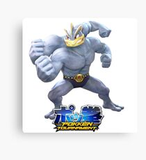 Pokken Tournament Machamp Canvas Print