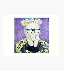 Tyler Oakley Art Print