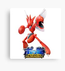 Pokken Tournament Scizor Canvas Print