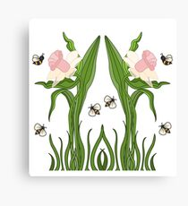 Buzzed Daffodils Canvas Print