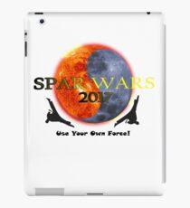 Spar wars martial arts karate - popular design iPad Case/Skin