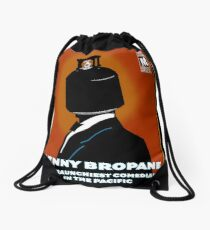 Benny Bropane the Raunchiest  Drawstring Bag
