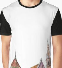 Hungarian church - secession | neo gothic  Graphic T-Shirt