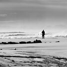 Solitary Fisherman by AnneDB