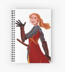 Ginny is our Queen Spiral Notebook