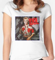 Billy Idol Women's Fitted Scoop T-Shirt