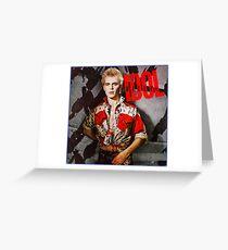 Billy Idol Greeting Card