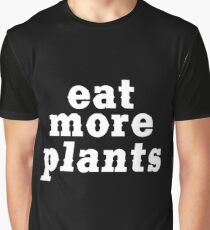 eat more plants (western) Graphic T-Shirt