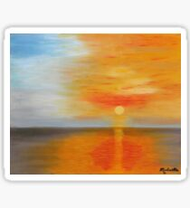 Ciel flamboyant - Blazing sky Sticker
