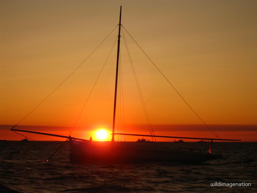 """Burning Sun"" Shark Bay, Western Australia by wildimagenation"