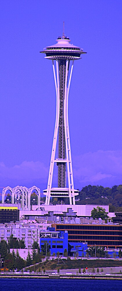 Seattle Space Needle by steveo69