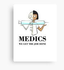 Medics Canvas Print