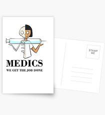 Medics Postcards