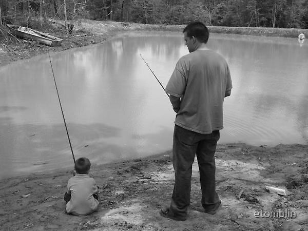 Fishing Boys by etomblin