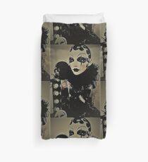 Cabaret Jazz Pierrot Jacqueline Mcculloch House of Harlequin  Duvet Cover