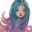 Unicorn Girls Love Best by Sheanoshame