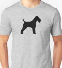 Wire Fox Terrier Silhouette(s) T-Shirt