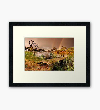 """A Golden Moment"" Framed Print"