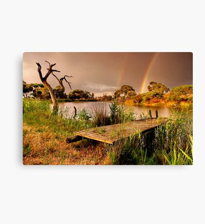"""A Golden Moment"" Canvas Print"