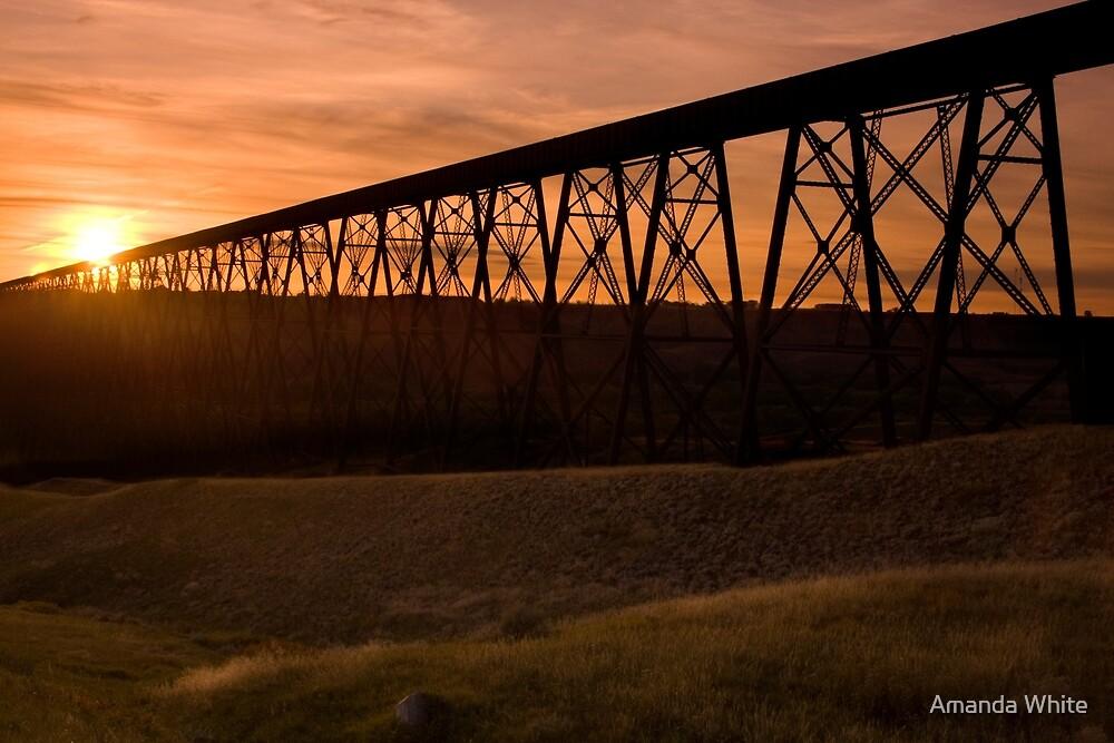 High Level Bridge, Lethbridge, Alberta by Amanda White