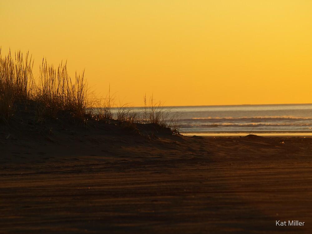 Pacific Ocean Sunset by Kat Miller