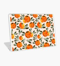 Sonnige Orange Laptop Folie