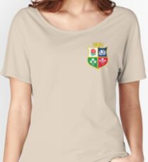 British and Irish Lions Logo Women's Relaxed Fit T-Shirt