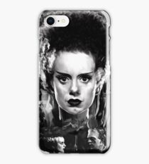 The Bride of Frankenstein Elsa Manchester iPhone Case/Skin