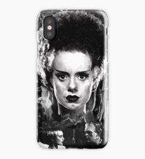 The Bride of Frankenstein Elsa Manchester iPhone Case/Skin