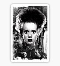 The Bride of Frankenstein Elsa Manchester Sticker