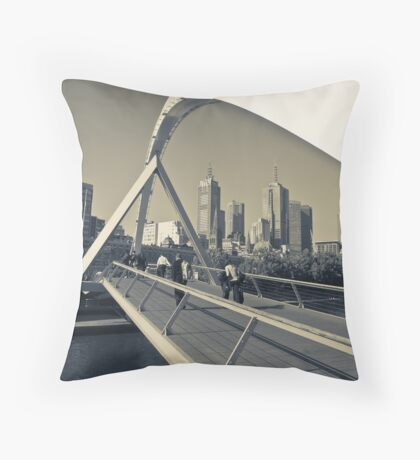 Evening Yarra Throw Pillow