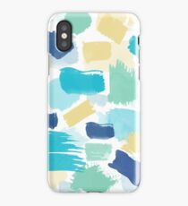 Colorful Brush Strokes Pattern iPhone Case/Skin