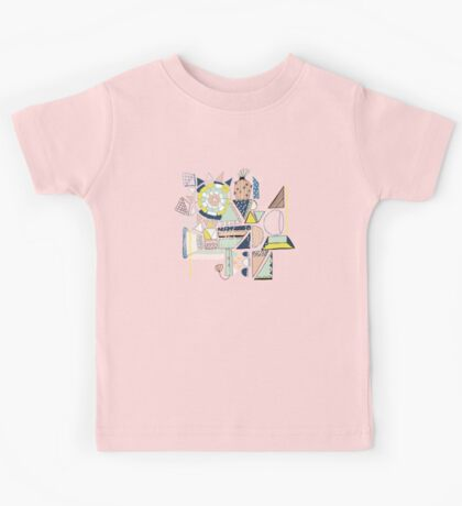 modern cactus pop art Kids Clothes