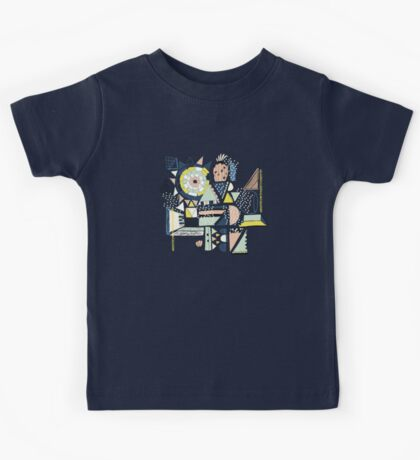 modern cactus pop art Kids Clothes