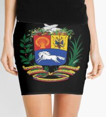 Venezuela Football & Soccer Team Mini Skirt