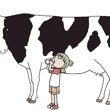 Yotsuba & Cow by ngud