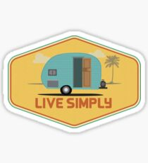 Simple Life - Sticker Sticker