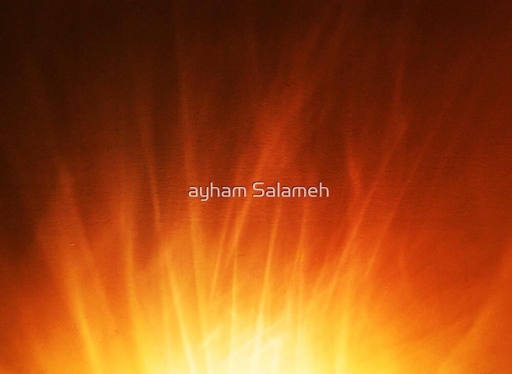 crystal Flames by ayham Salameh